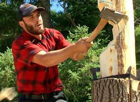 Lumberjack Spring Board Chop